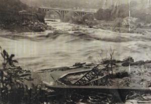 N° 007 Précipitations record : 17 octobre 1940 dans les Haut-Vallespir (Pyrénées-Orientales).