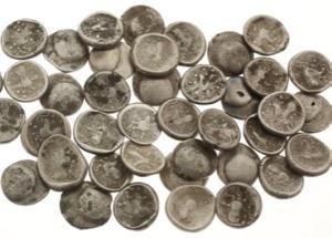 N° 057  Un trésor de 40 pièces celtiques découvert en Slovaquie