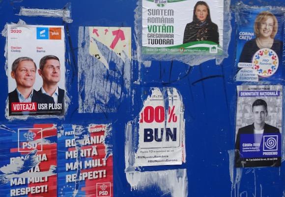 N° 082  Résultat des élections européennes en Roumanie