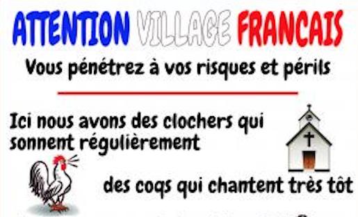 N° 094 Attention village français
