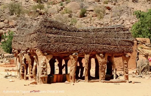 N° 115 Jacques CHIRAC : nous Peuple Dogon du Mali, avons fait de lui notre Hogon