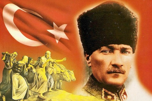 N° 125 Mustafa KEMAL ATATÜRK : interdiction du voile dans l'espace public.