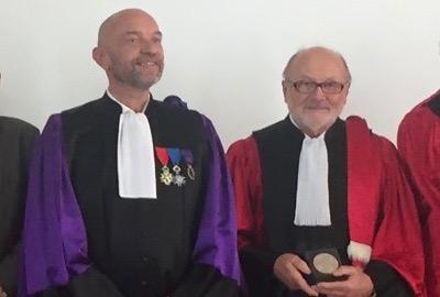 N° 137 Le professeur Maciej PAWLOWSKI honoré par l'Université de Montpellier.