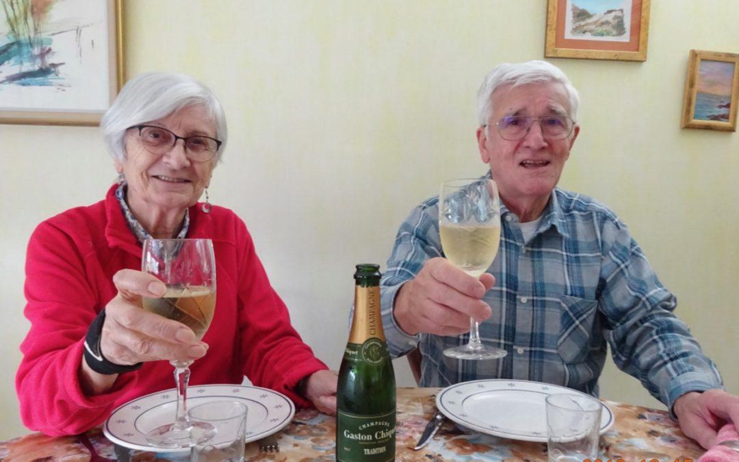 N°146 ICEO, 30 ans, champagne pour tous ceux qui ont participé à l'aventure!