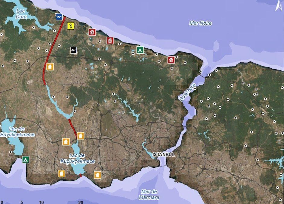 N° 185 Le « Kanal Istanbul » : Le projet fou de trop pour la présidence turque ?