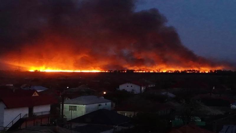 J° 006 Le delta du Danube en feu. Images inquiétantes d'une catastrophe dont personne ne parle !