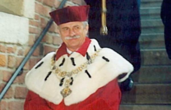 N ° 245 Śmierć prof. Franciszka ZIEJKI.