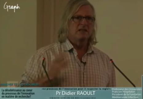 N° 191 Une autre face du professeur Didier RAOULT