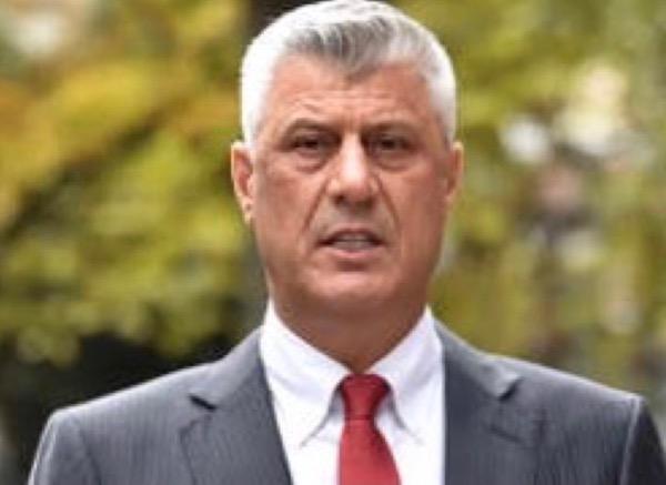 N° 260 Hashim THAÇI, président du Kosovo démissionnaire, dort en prison aux Pays-Bas