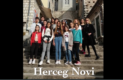 N°291 Francophonie : amical salut de nos amis de Herceg Novi (Monténégro)
