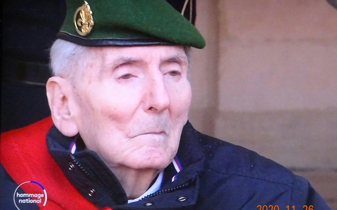 N° 344 Le dernier compagnon de la Libération, Hubert GERMAIN, est mort.