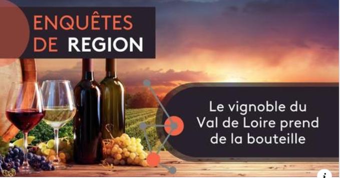 N°346 Les vins du Val de Loire, un vignoble qui prend de la bouteille!
